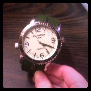 Other - Unisex watch with open storage compartment